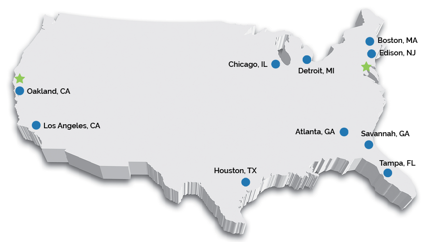 to accommodate fluctuating customer demand we maintain inventories at strategically located warehouses throughout the us and have made significant